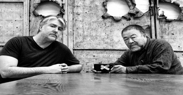 The value of life: Blockchain-art by Kevin Abosch, and Ai Weiwei