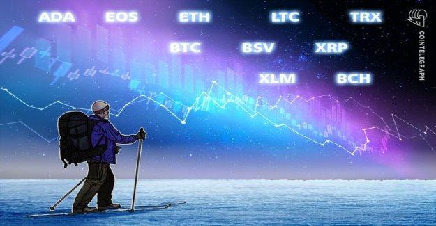 Course analysis, 4. January: Bitcoin, Ethereum, Ripple, Bitcoin, Cash, EOS, Stellar, Litecoin, Bitcoin, SV, TRON, Cardano