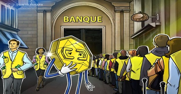 What do We know about the Bank storm the yellow West, and how crypto-assist could be