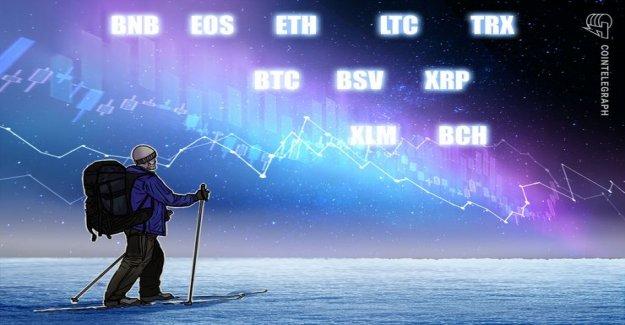 Rate analysis, 1. March: Bitcoin, Ethereum, Ripple, EOS, Litecoin, Bitcoin, Cash, Stellar, Tron, Binance Coin, Bitcoin SV