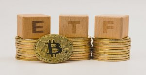 Application for a Bitcoin ETF is light,...