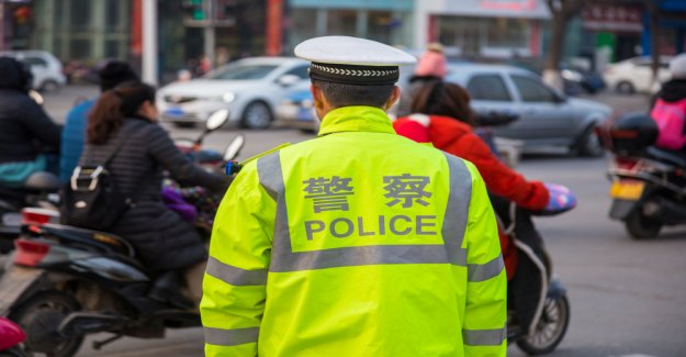 After a 30-million-US-Dollar-Scam: police in Beijing Tron-office