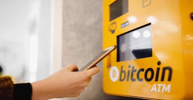 The situation on Wednesday – which was actually from the Bitcoin ATM?