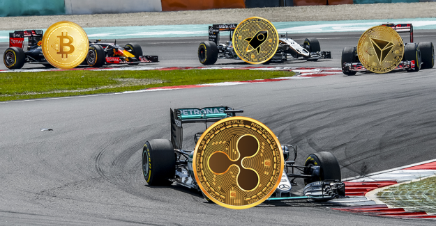 Ripple rate depends on the Bitcoin-price – to- Altcoin rally started