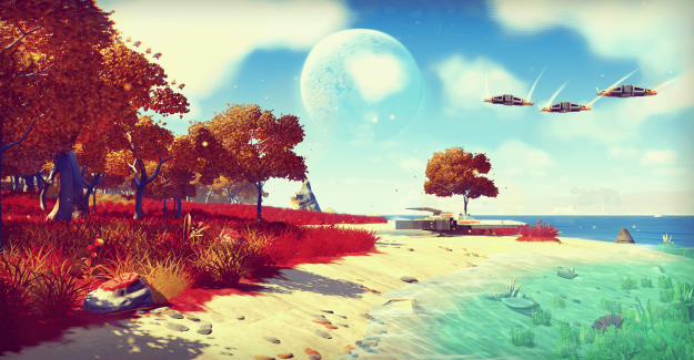 Undiscovered Bitcoin is in No Man's Sky: searching for the digital Gold