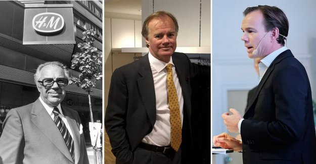 For three generations,  Persson at the president-the chair – it is now the era of the