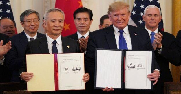 Gunnar Jonsson: an expensive trip to the Trump a cease-fire in trade war, that