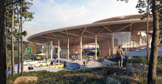 Volvo is built on-site event center in the both next door to Liseberg amusement park