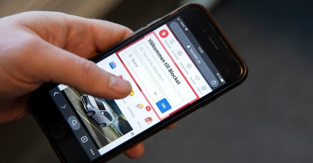 A car dealer can be a cause of private ads on Blocket
