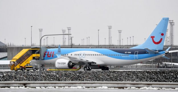 Disaster boeing aircraft it costs the tour operator Tui-b.