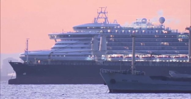 Several thousand of the firm on a cruise ship – ten of the infected