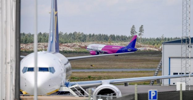 The notice is expected in the stockholm-Skavsta airport