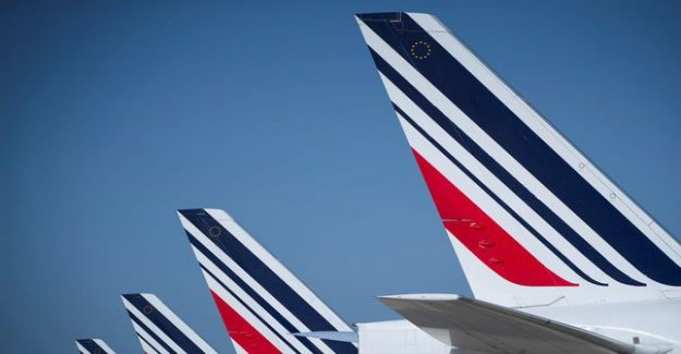 Air France : bid on flights in France will collapse by 40% by 2021