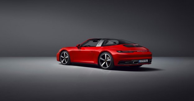 At least 168.200 € for the new Porsche 911 Targa