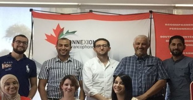Connections francophones : a program to prepare for his arrival in English-speaking Canada