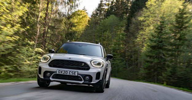 Makeover, and larger electric range for the MINI Countryman