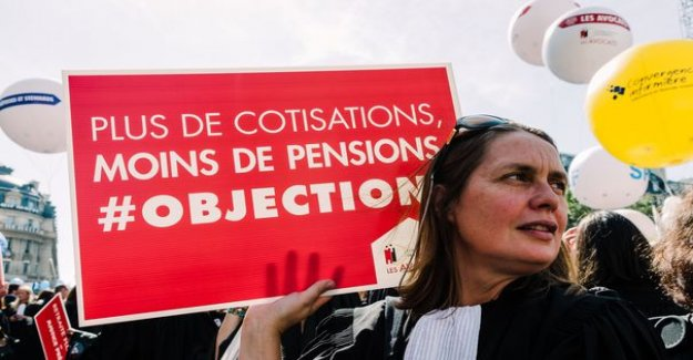 Pension reform : lawyers are not convinced by Belloubet and Delevoye
