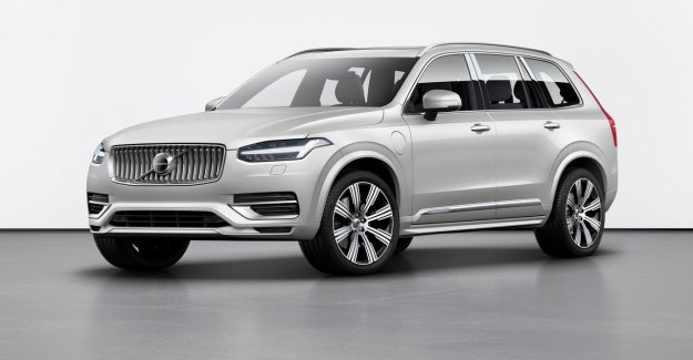 The all-new Volvo's is limited to 180 km / h