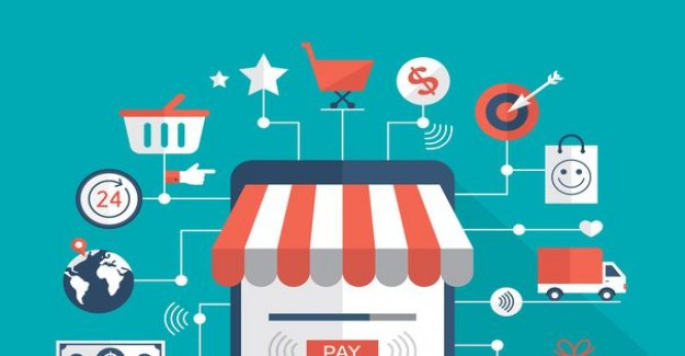 The consumer pays lip service to the web, small traders less