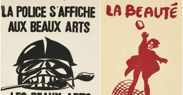 The posters of 68 auction