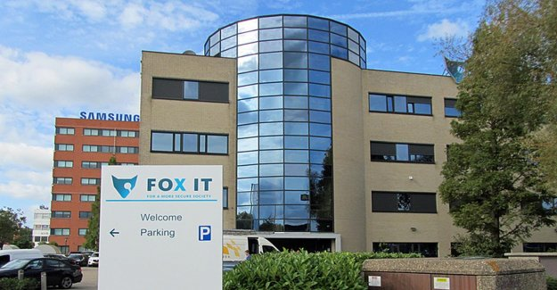 'The suspended executives wanted to be a Fox-IT in the Dutch to get your hands on'
