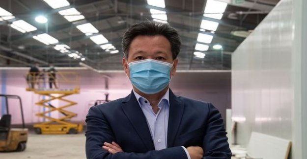 Who is the mysterious Mr. Wang, a businessman who wants to produce masks in France ?