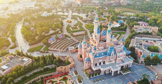 After Disneyland, Shanghai is also a park in hong Kong is once again open for visitors