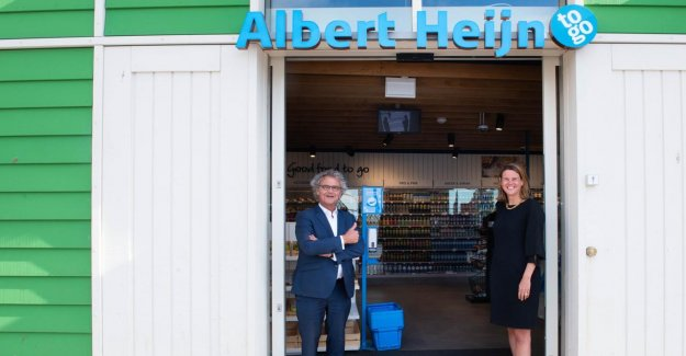 Albert Heijn NS to extend co-operation to stationswinkels