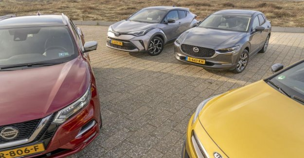 European car sales in may, more than half of it less than a year earlier