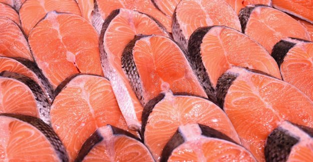 Exports of Norwegian salmon to China dropped by a corona of an outbreak