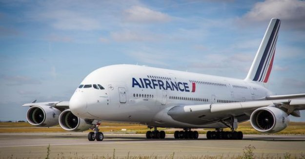 IMAGES. The A380 of Air France, a last flight and then goes