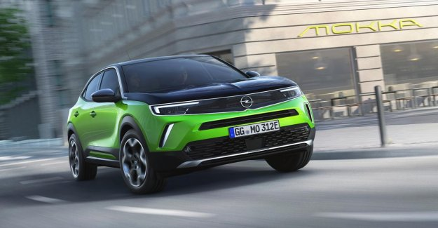 Opel presents the new Cream, his second of the electric car