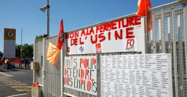 Renault : more than 200 employees to the site of Choisy-le-Roy in the strike, renewable