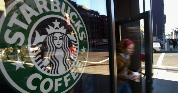 Starbucks is not a paid-for ads, posting on social media