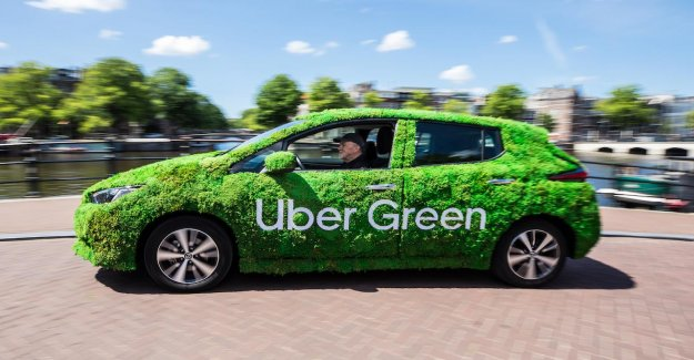 Taxitplatform Uber now offers even more rides in electric cars