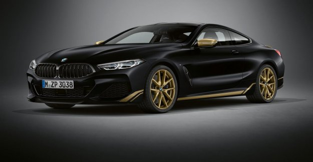 The BMW comes with a special version of the 8 Series