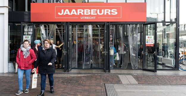 The 'Jaarbeurs' turn heavily to the strong growth in after coronacrisis