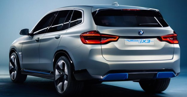 The first electric BMW for seven years, on coming up, found the mark to be still?