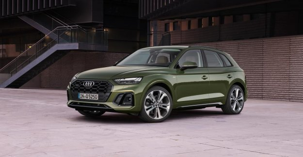 The improved Audi Q5 is now only the plug-ins inhybride available