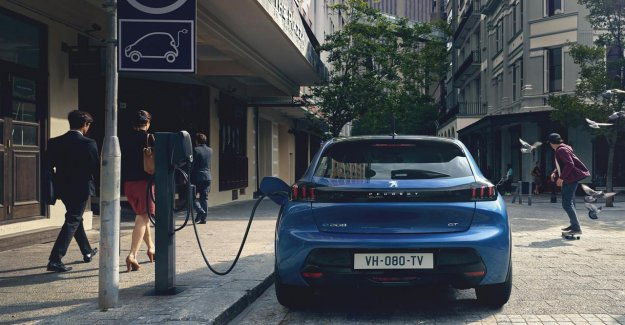The market share of electric cars in the Netherlands in the direction of 13 per cent