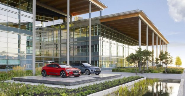 The red numbers at the Tata Motors subsidiary Jaguar Land Rover, a