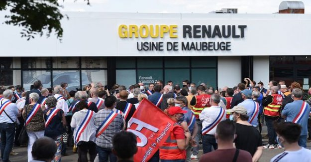 Thousands of people demonstrate in Maubeuge against the savings plan of Renault