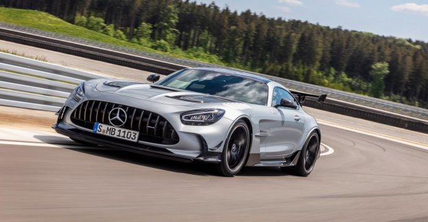 730 hp for the new Mercedes-AMG GT Black Series