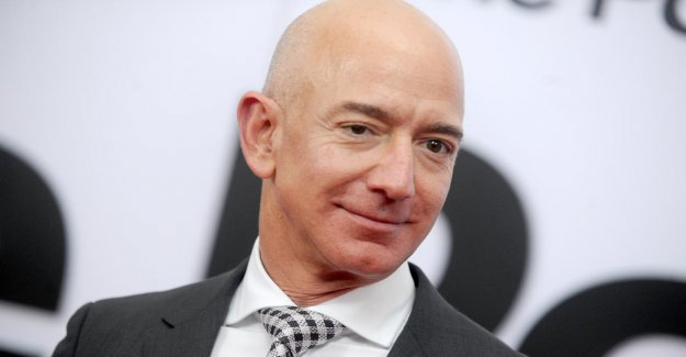 Amazon's ceo, Jeff Bezos, almost a 10 billion doller richer in one day