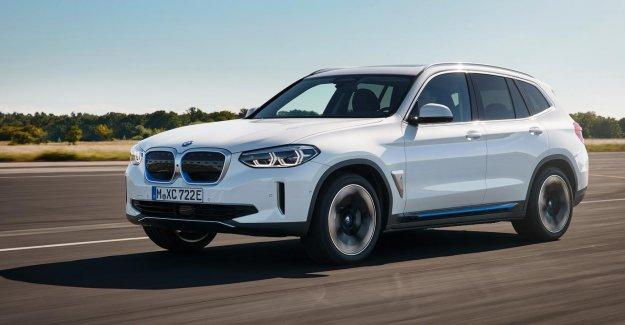 BMW presents first electric vehicle-since 2013