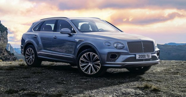 Bentayga SUV of Bentley will, after a five-year update
