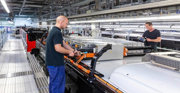 Can we expect to see from the accutechniek-in electric vehicles