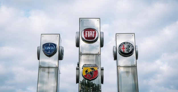 Car manufacturer Fiat and Chrysler will share in the coronamalaise, a loss of 1 billion euros