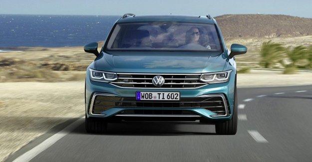 Clean-up and plug-in inhybrideaandrijving for the updated Volkswagen Tiguan