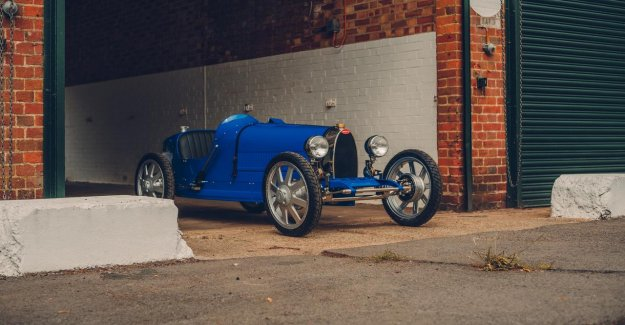 Electric toys-Bugatti of a $ 30,000 re-sale